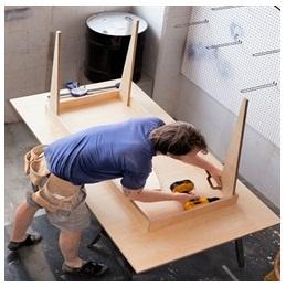 Сборка столов по низким ценам в Великом Новгороде от специалистов