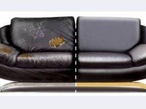 Перетяжка кожаного дивана в Великом Новгороде