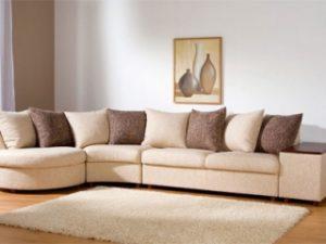 Перетяжка углового дивана на дому в Великом Новгороде